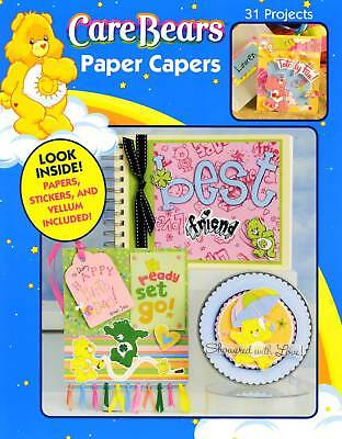 Care Bears Paper Capers Scrapbooking Papers & Stickers Design Project Book