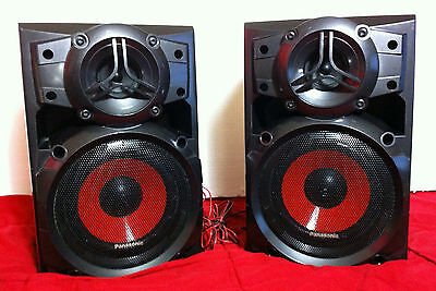 Panasonic Speaker System for Boombox Stereo SB-AK220 2 80W Each Replacement Set