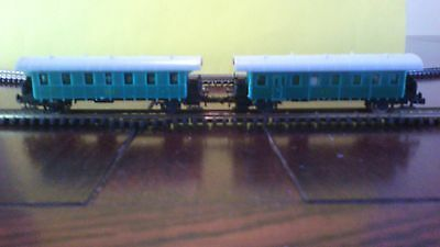 2 n scale carriages