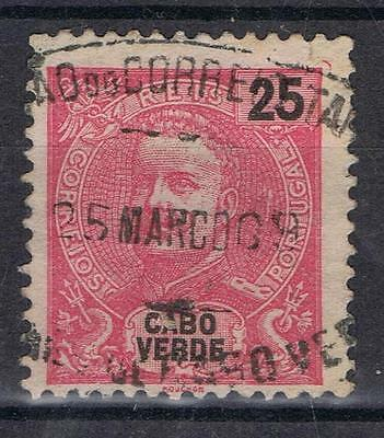 Cape Verde 1898 King Carlos   SG 112 Used
