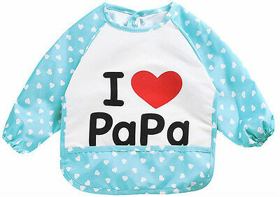 Kids/Children's Bib/Smock for Art,Craft,Painting,Drawing,Eating (Size/Age 5 to7)