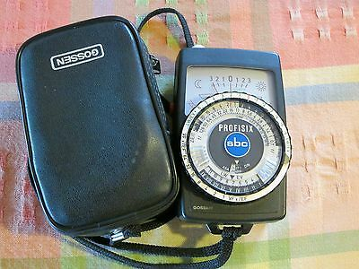 Gossen Profisix light meter