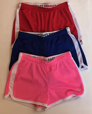 JUSTICE Girl's 14 Lot of 3 Mesh Shorts