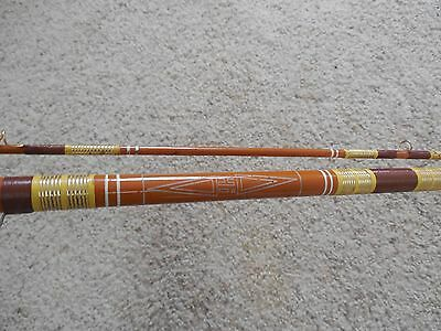 VTG  Fishing Rod Pole Horrocks-Ibbotson # 1448 Mohawk 8' usa Fly rare