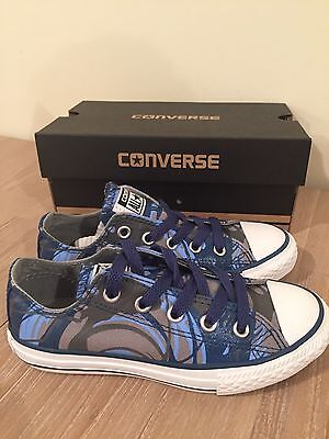 $89 New Authentic CONVERSE Limited Edition Kids Unisex Shoes.Size 12