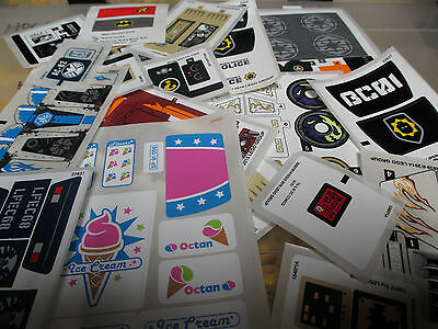 LEGO Assorted Stickers / Decals for Various LEGO Sets - All Original & Authentic