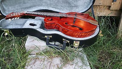 "New Mia ""Pulaski"" F-7AE F-Style Mandolin & Case -Acoustic/Electric - Made in USA"