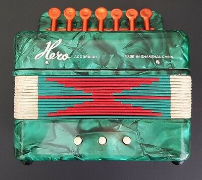 HERO ACCORDION Music Instrument with Original Box