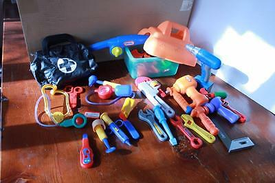 Assorted Pretend Play For The Aspiring Doctor Builder And Fisherman Little Tikes