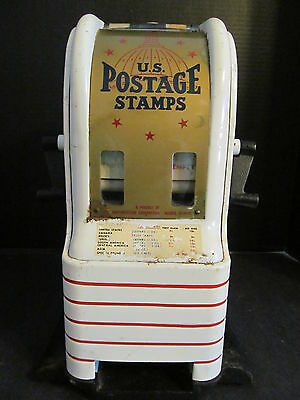 Vtg Post Office US Postal Postage Stamp Dispenser/Machine