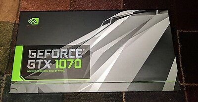 NVIDIA Founders Edition GeForce GTX 1070 8GB GDDR5 PCI Express 3.0 Graphics Card