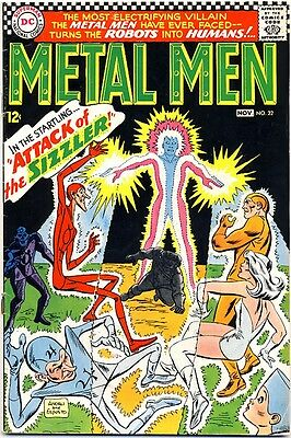 METAL MEN #22 1966 FN- DC Comics 1ST APPEARANCE THE SIZZLER