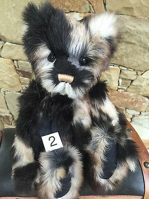 Babycakes Collectable Charlie Bears Fully Jointed 27cm Plush Teddy Bear