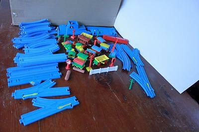 Vintage Collectors Rare Toltoys Train Set Great Begin Or  Add To Collection