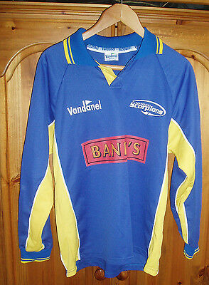 Derbyshire Scorpions Cricket Shirt Player Issue Vintage Superb Falcons