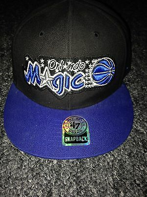 orlando magic snap back cap