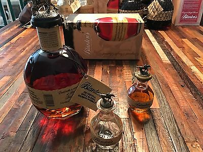 Blanton's Bourbon Miniature 50ml Baby SAMPLE Bottle Rare Empty