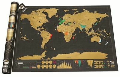 Scratch Where Have You Been All Your Life Amazing World Map For The Wall 2017 tt