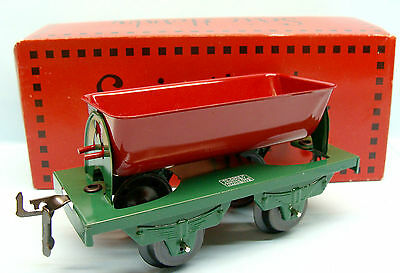 A09 Hornby / Hachette / Wagon Benne Basculante Rouge O 1/43