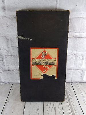 Vintage 1936 Monopoly Board Game with VERY RARE Stock Exchange Add On Australia