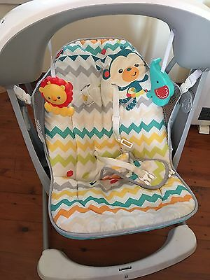 Fisher Price Colourful Carnival Swing & Seat