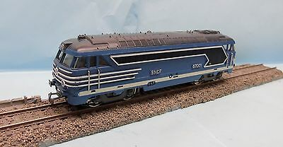 Cf17/012 Jouef / France / Locomotive Diesel Sncf Bb 67001  Ho 1/87