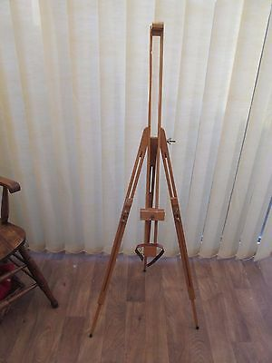 Wooden Artists Easel Large Floor Standing Field Adjustable Height