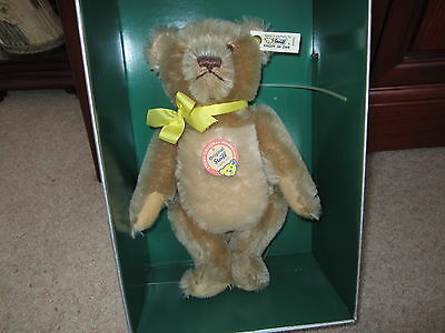 Steiff Limited Edition Teddy Bear With Neck Mechanism 25Cm