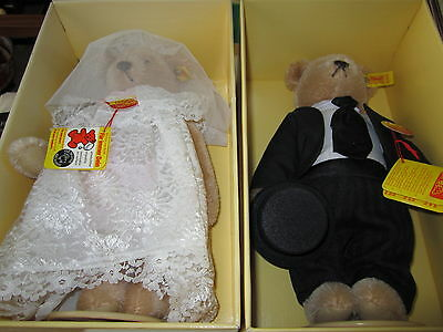 Teddy Bear Steiff Bride And Groom