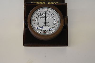 Altimeter  SUNDO 6000 Höhenmesser Made in Germany