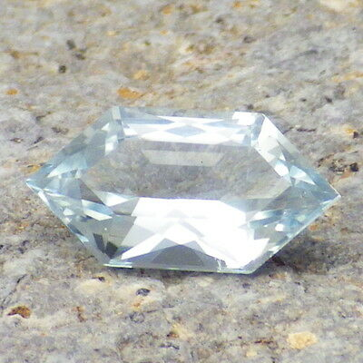 BERYL VAR. GOSHENITE-MOZAMBIQUE 2.21Ct FLAWLESS-COLORLESS-FOR JEWELRY!