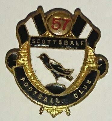 1957 Scottsdale Football Club Badge - tasmania