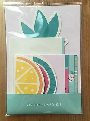 Kikki K Cute Vision Board Inspiration Kit for planner diary BRAND NEW