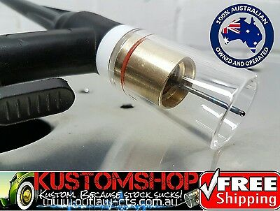 Gas Lens Kit, Pyrex! Suits 17, 18 & 26 Series Tig Torches. Free Postage!