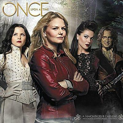 FREE 2 DAY SHIPPING: 2018 Once Upon a Time Wall Calendar (Day Dream) (Calendar)