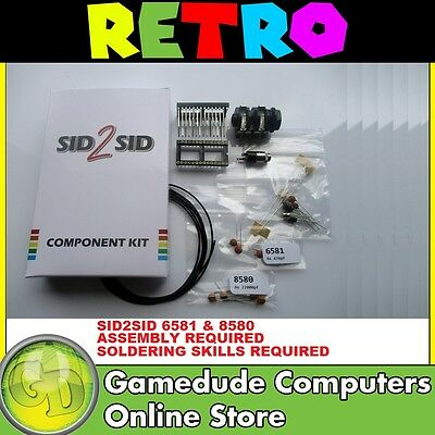 SID2SID Commodore 64 Parts Kit for the Second SID 6581 & 8580 [03]