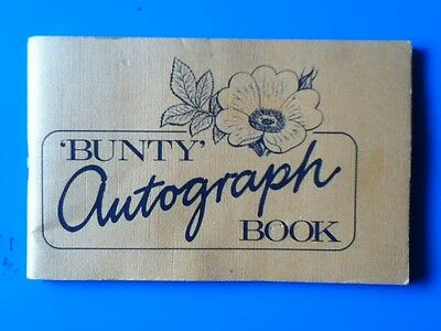 BUNTY Autograph Book - Free with Bunty comic #1131   15th Sept 1979