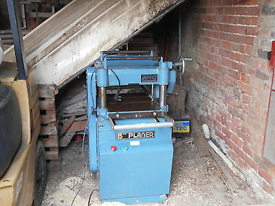 "Aptc Wood Planer Thicknesser 15"" Single Phase."