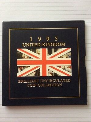 brilliant uncirculated coin collection uk 1995