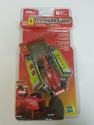 tiger handheld electronic game - ferrari premium game dated 2000. New and sealed