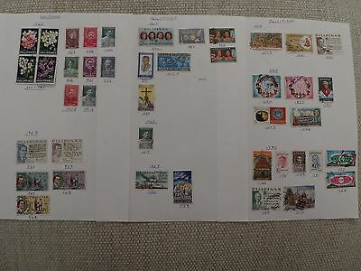 Philippines collection of 77 stamps