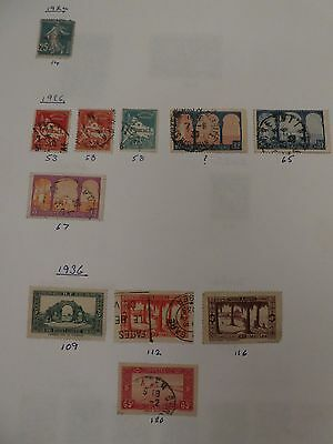 Algeria collection of 39 stamps - see all scans