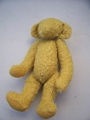 unfinished project.mohair teddy bear 28cm