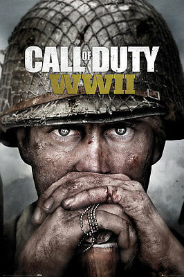CALL OF DUTY STRONGHOLD WWII Key Art MAXI POSTER SIZE 91.5 x 61cm FP4523