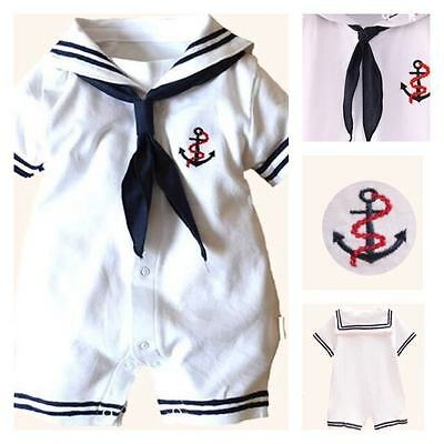 Wholesale Job Lot Bankrupt stock 1 Sailor Boys Rompers Clothes Baby Grows kids