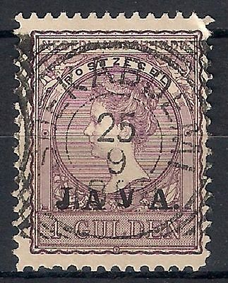 NETHERLANDS INDIES 1908 - SC. 97  1g dull lilac    USED  - 8/22