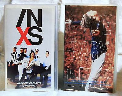 VIDEO INXS Originali - 4 VHS