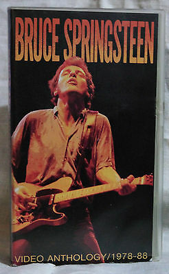 VIDEO ANTOLOGY 1978-88 BRUCE SPRINGSTEEN Originale -  VHS
