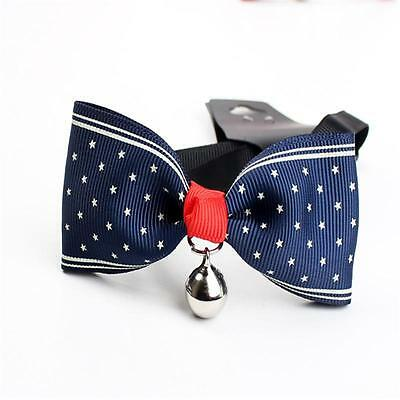Adjustable Pet/Dog/Cat Bow Tie Collar with Bell