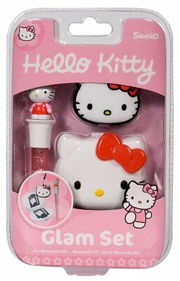 HELLO KITTY Set pour Nintendo 3DS, 3DS XL, DSi, DSI, NEW  Officiel Neuf En Stock